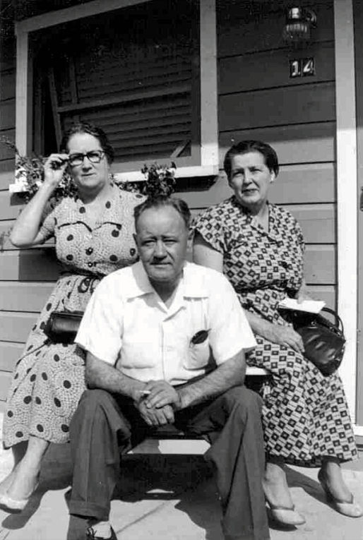 Stella McDonnell, Allan Jerome Moran, and Mary Catherine Lahey, 1950s